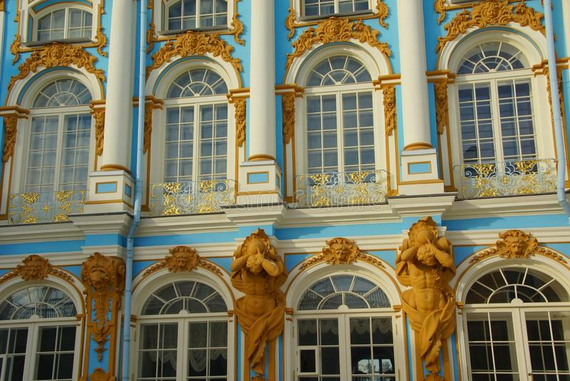 Détail de la façade image stock