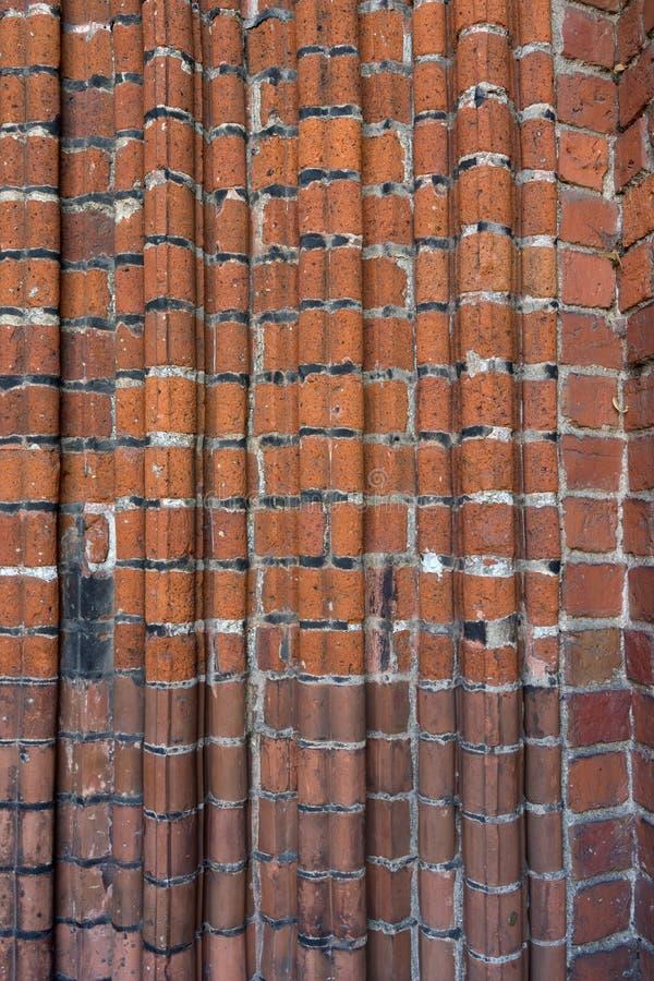 Détail de la façade de la vieille cathédrale à Riga photo stock