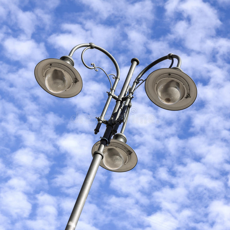 Détail de lampadaire photos libres de droits