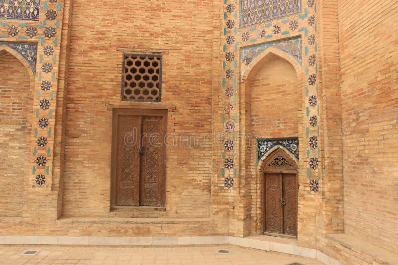 Détail de mausolée de Timur Lenk images libres de droits