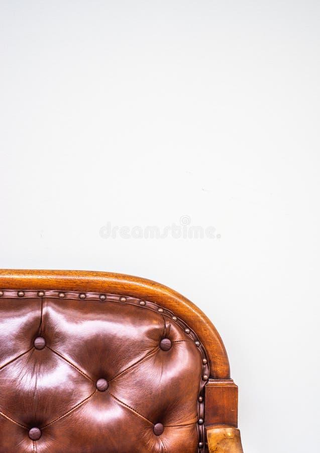 Détail de meubles antiques avec l'espace de copie images stock