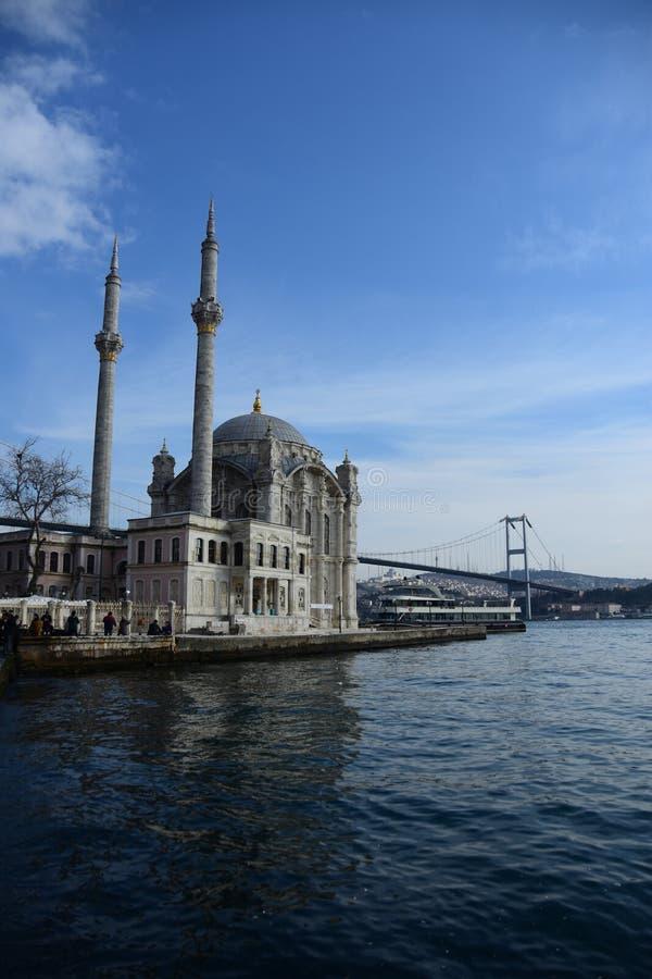 Détail de mosquée d'Ortakoy photo libre de droits