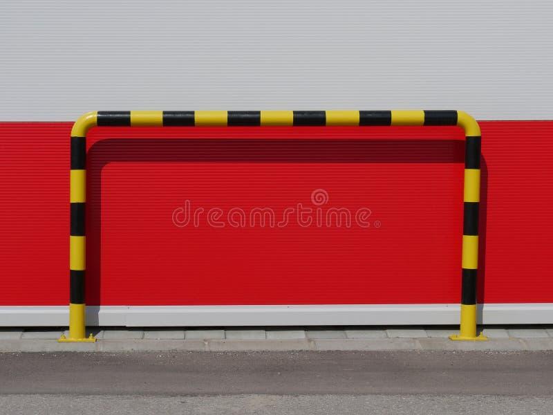 Détail de mur de construction industrielle image libre de droits