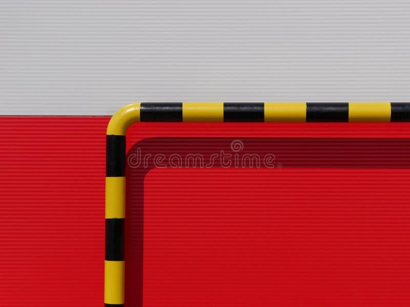 Détail de mur de construction industrielle image stock
