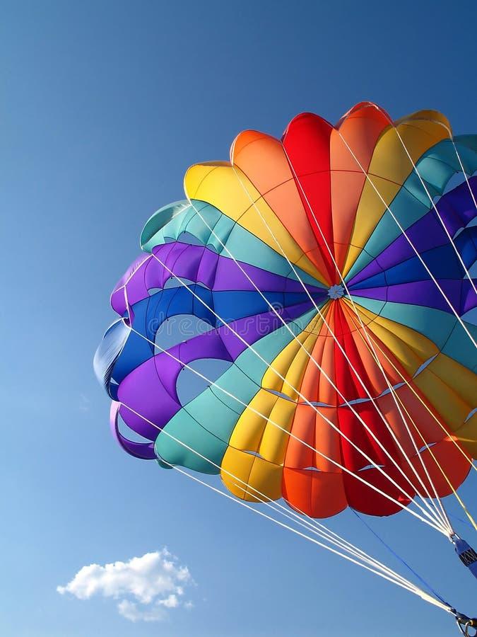 Détail de parachute images libres de droits
