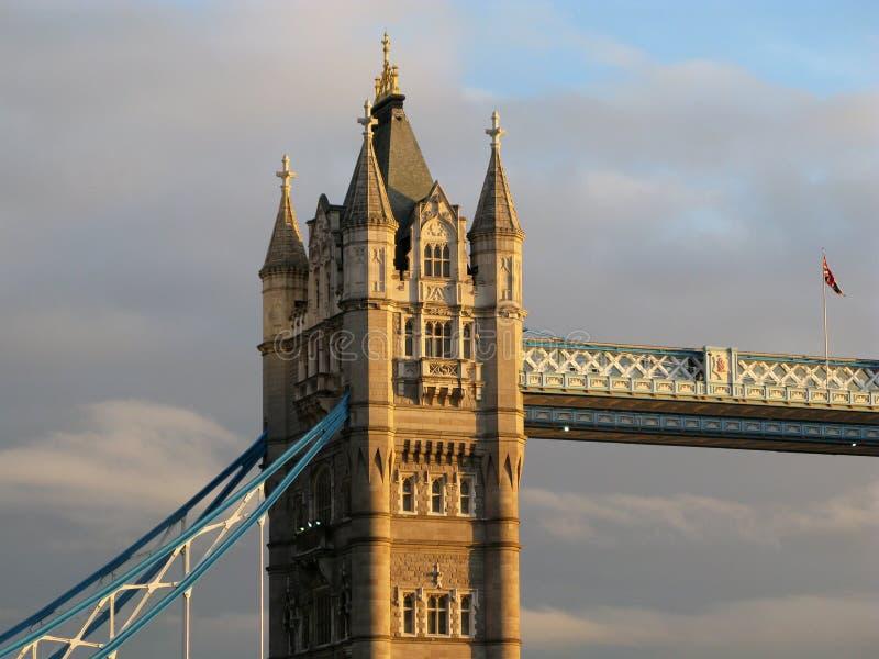 Détail de passerelle de tour à Londres photo stock