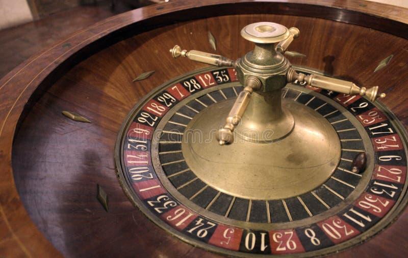 Détail de photo de roulette de casino photo stock