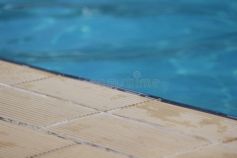 Détail de piscine image libre de droits