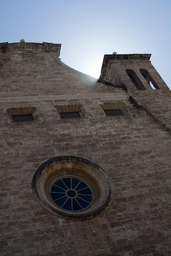 Détail de plan rapproché d'église photo stock