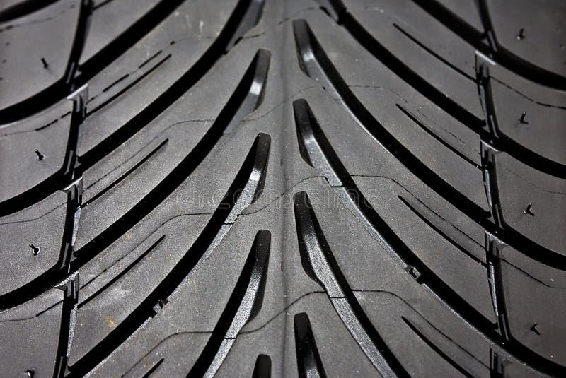 Détail de pneu image stock