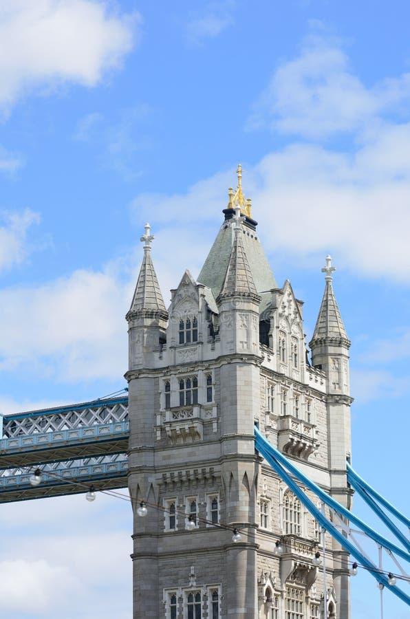 Détail de pont Londres de tour image stock