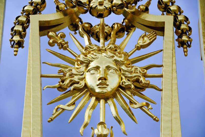 Détail de porte de Versailles photographie stock
