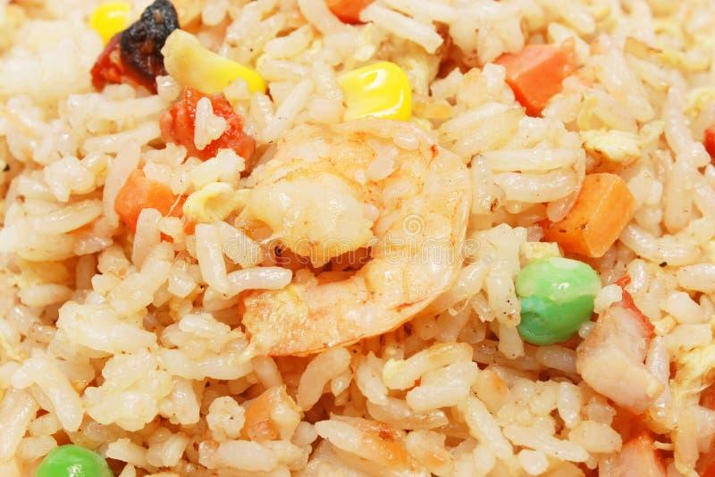 Détail de riz frit photographie stock