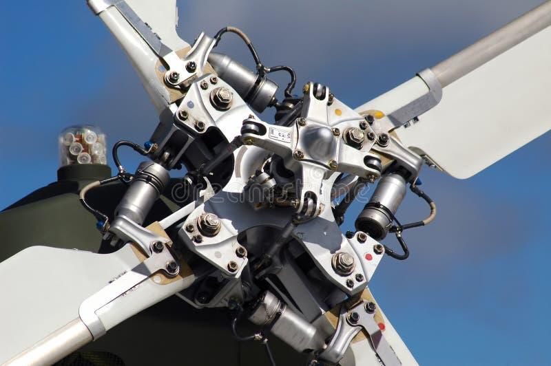 Détail de rotor de queue photos stock