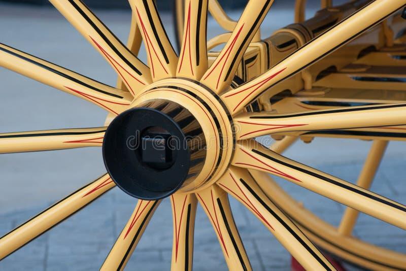 Détail de roue arrière photographie stock libre de droits