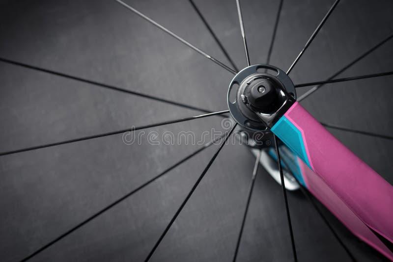 Détail de roue de vélo image stock