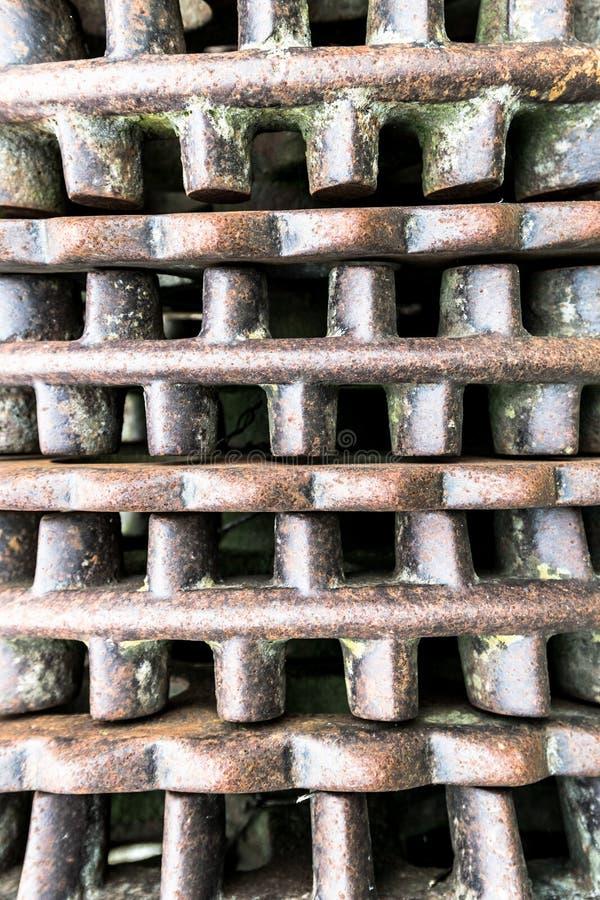 Détail de rouleau de Cambridge photographie stock
