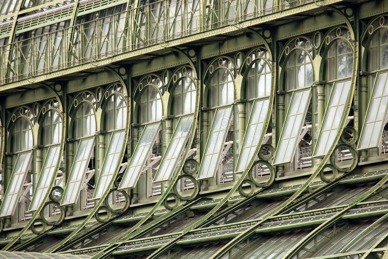 Détail de serre de Palmenhaus Vienne photos stock