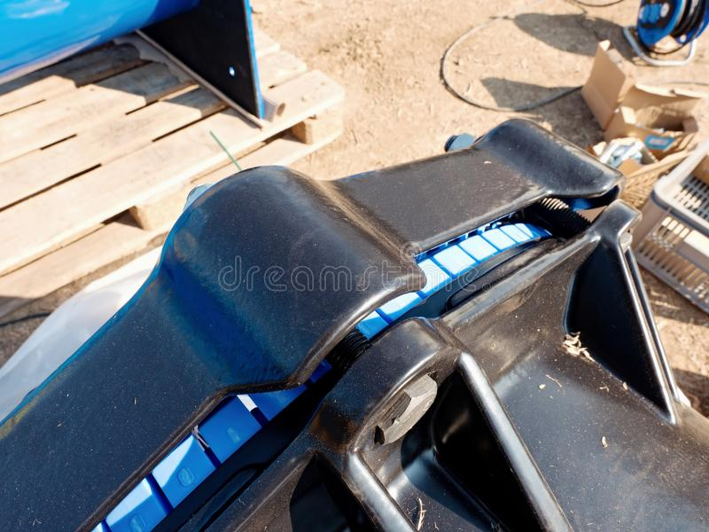 Détail de système de cachetage dans le joint multi de waga images stock