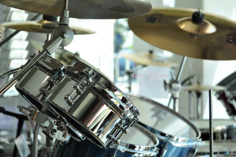 Détail de tambours image stock