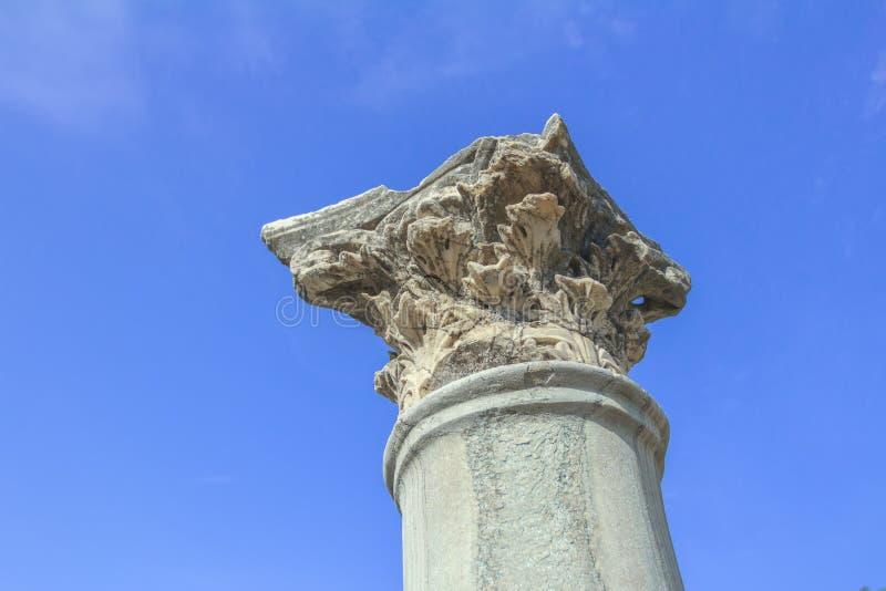 Download Détail De Tenir La Colonne D'ordre Corinthien à L'agora Antique Sur L'île De Kos De Grec Photo stock - Image du histoire, landmark: 56476270