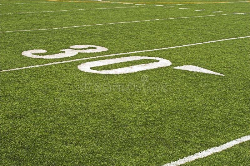 Détail de terrain de football photo stock