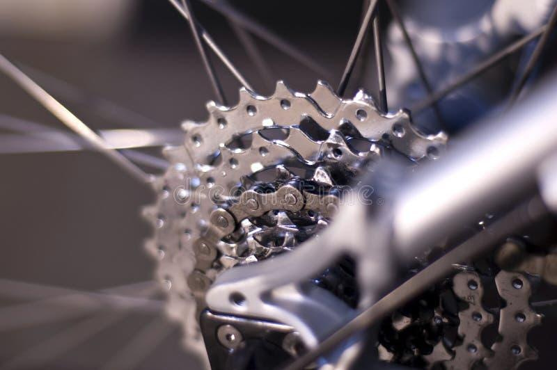 Détail de vélo de montagne photographie stock libre de droits