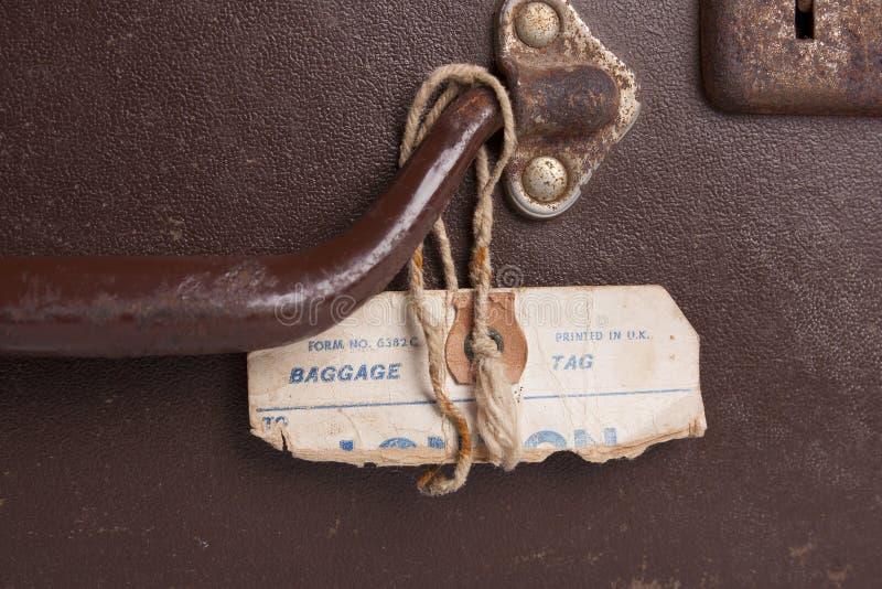 Détail de valise image libre de droits