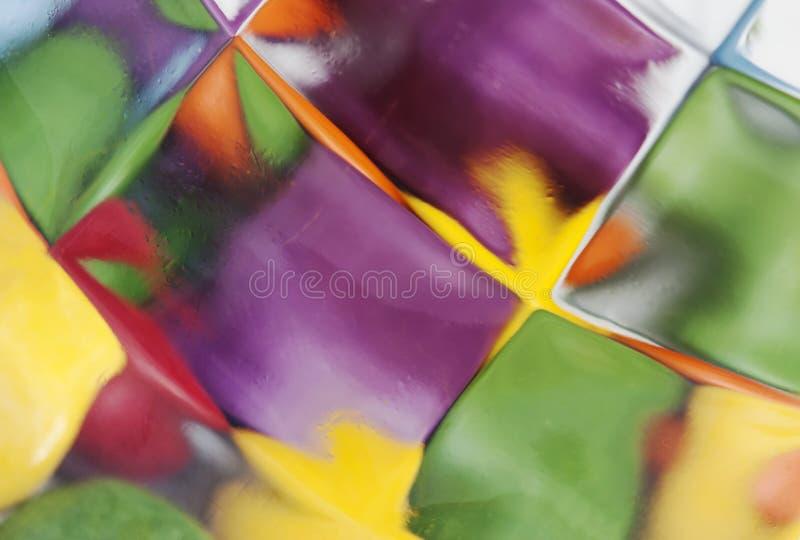 Détail de verre souillé images libres de droits