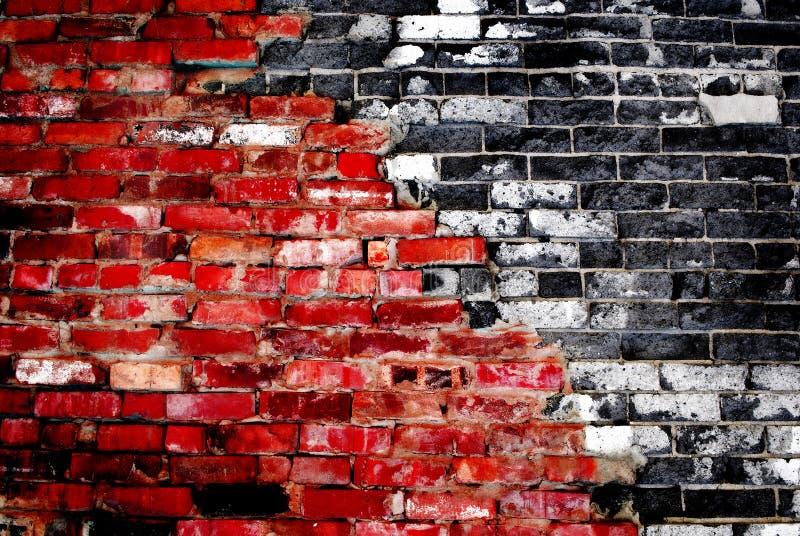 Détail de vieux mur de briques photographie stock libre de droits