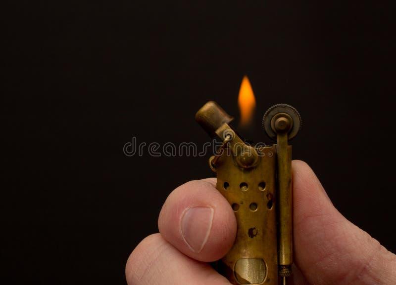 Détail de Vintage Lighter image libre de droits