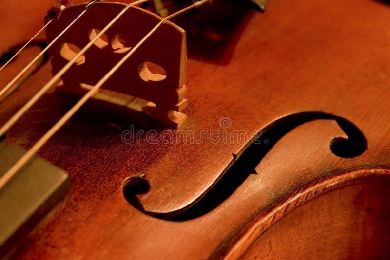 Détail de violon images stock