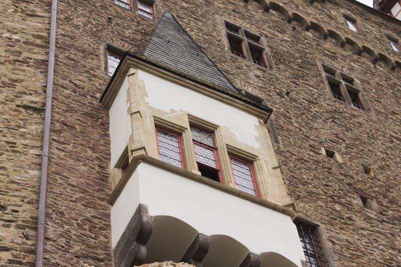 Détail des bâtiments à colombage dans une ville gothique Allemagne photographie stock