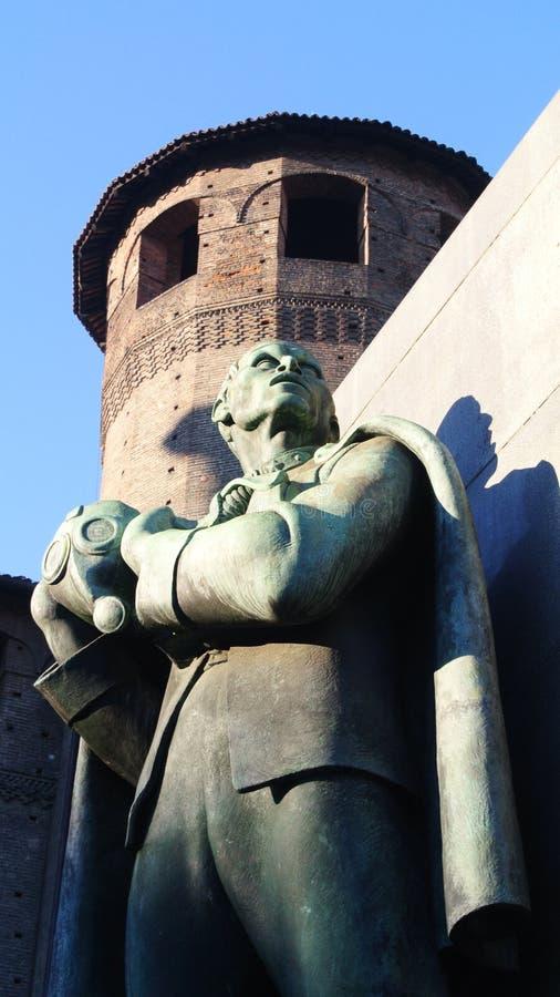 Détail du centre de Turin photographie stock