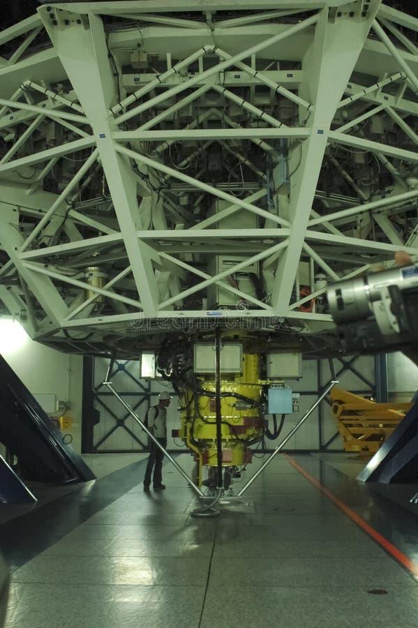 Détail du télescope très grand image libre de droits