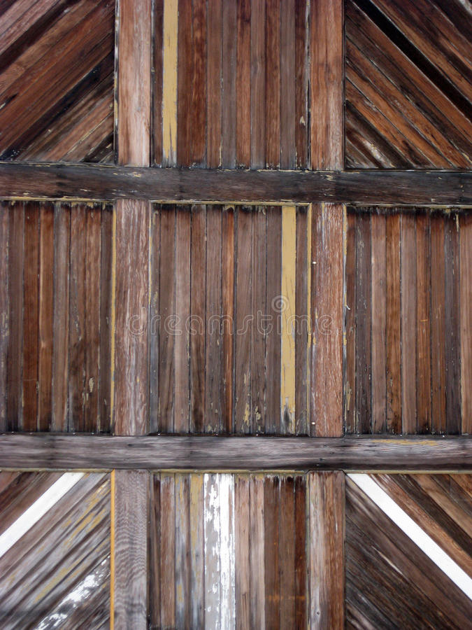 Détail en bois de porte photos stock