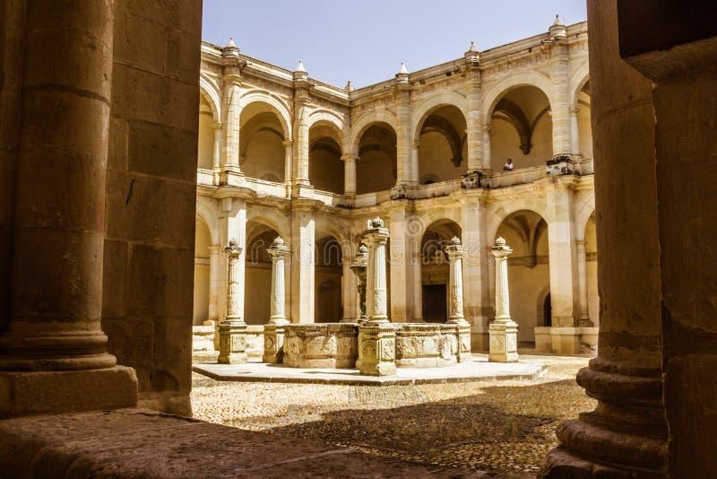 Détail extérieur du musée des cultures à Oaxaca Mexique image libre de droits