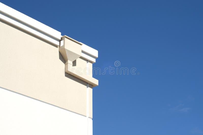Détail faisant le coin de construction image stock
