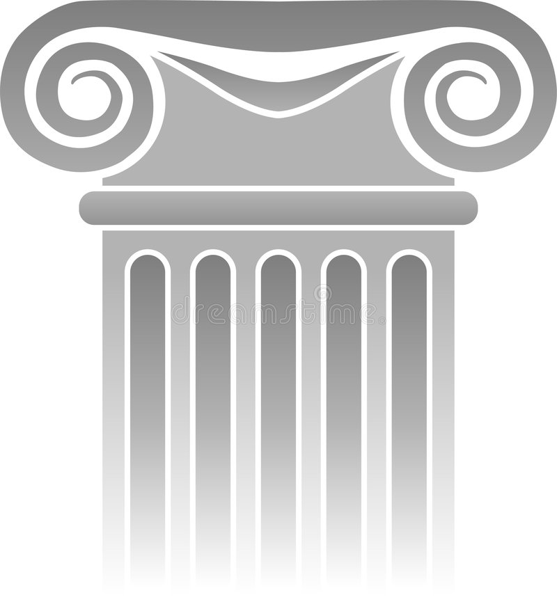 Détail grec de fléau/ENV illustration de vecteur