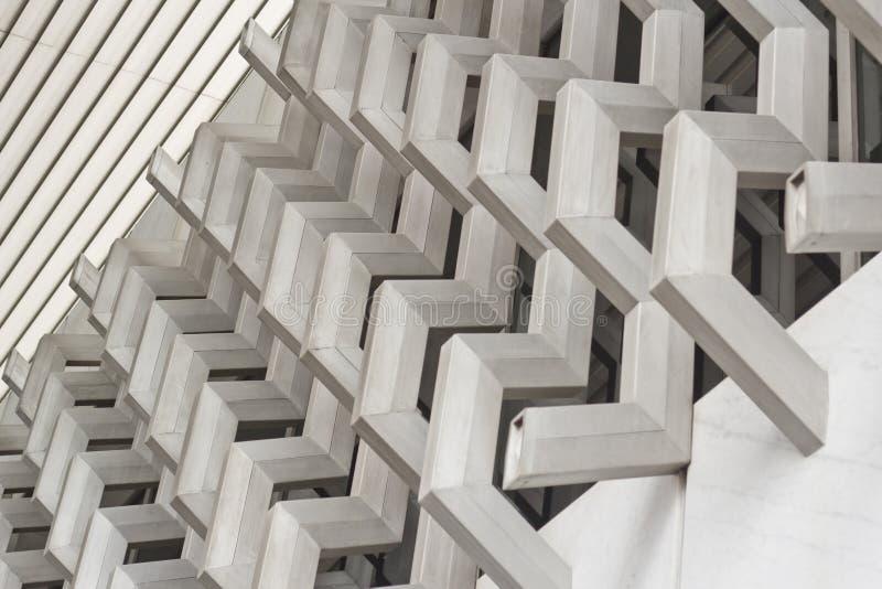 Détail moderne architectural photos libres de droits