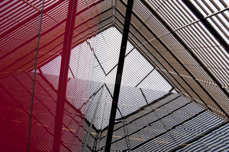 Détail moderne de construction photo libre de droits