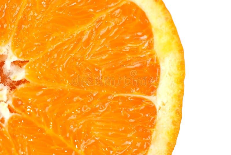 Détail orange de part image stock