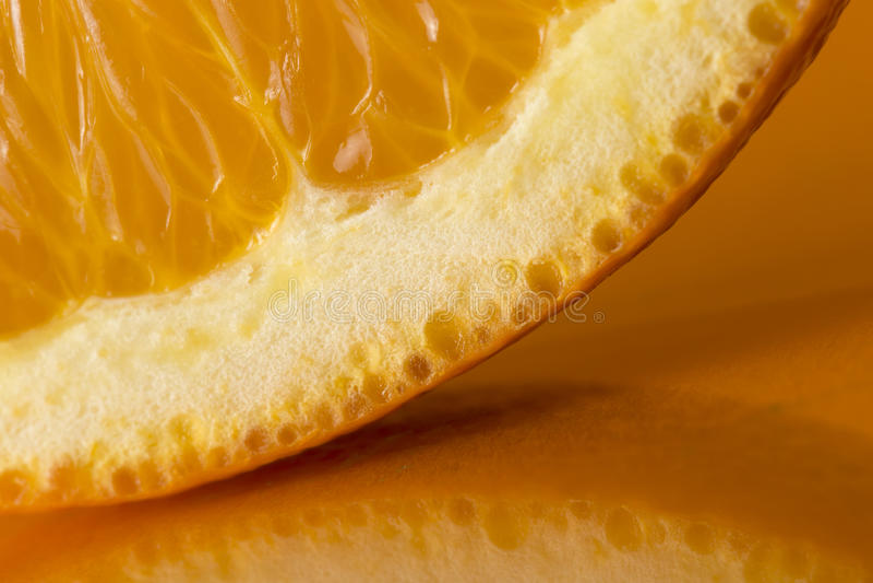 Détail orange de part images stock