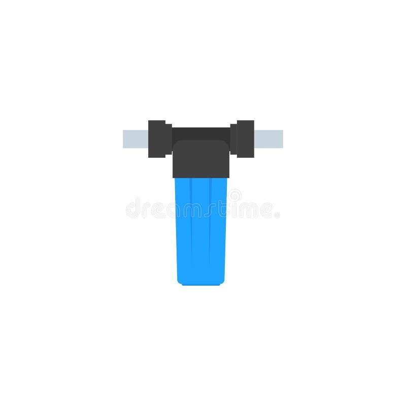 Détail pour le plan de l'approvisionnement en eau et la purification de l'eau du puits illustration stock