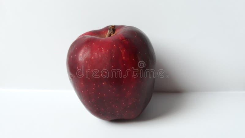 Détail rouge foncé de pomme image libre de droits