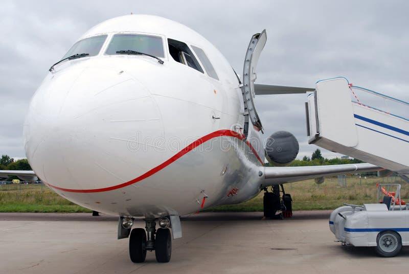 Détail russe d'avion du TU photos libres de droits