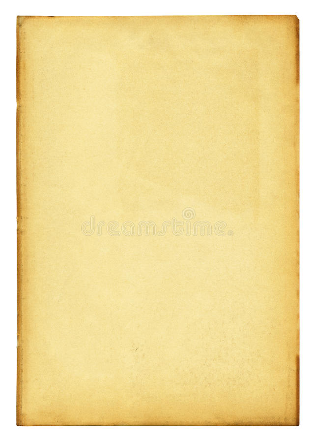 Détaillé de papier de cru haut avec le chemin de découpage photo stock