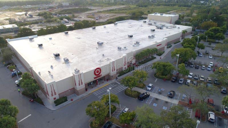 Détaillant Miami FL, Etats-Unis de remise de cible images stock