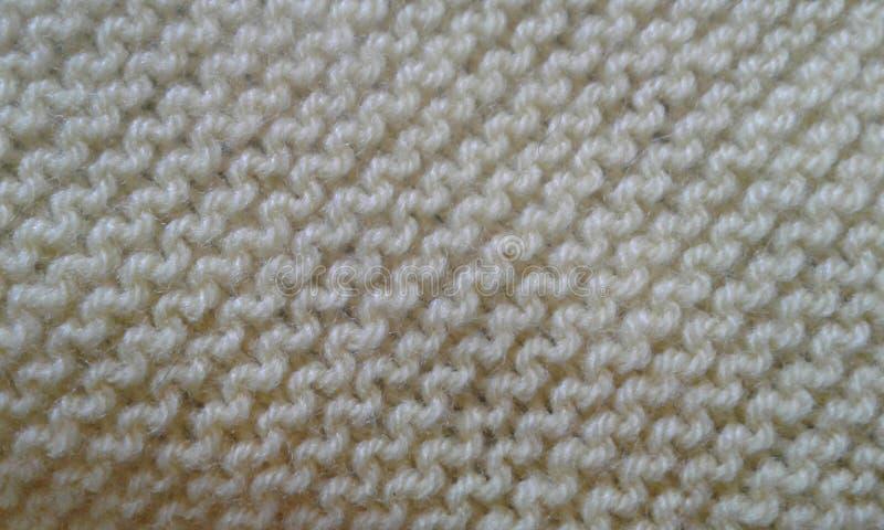 Détails beiges polaires de texture de tissu de tissu photos stock