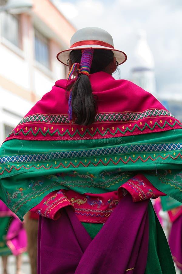Détails d'habillement en Equateur image stock